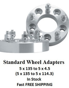 Wheel Adapters 5x135 to 5x4.5 (pair of 2)