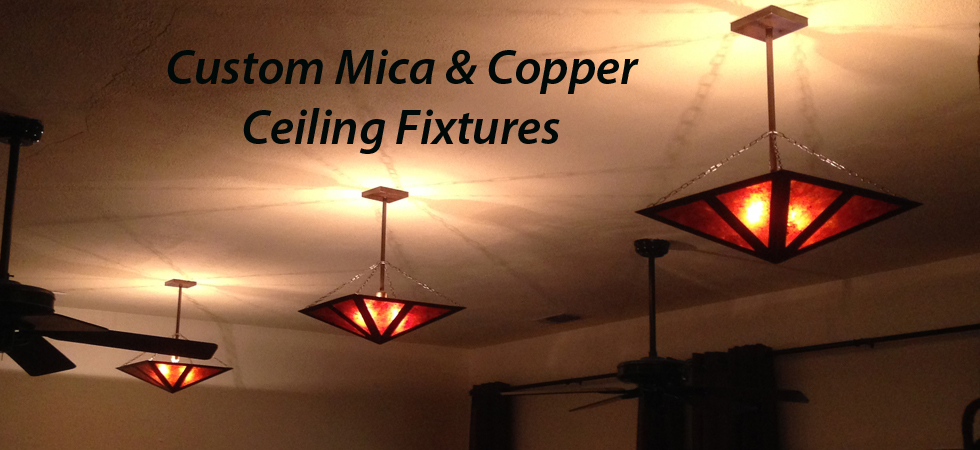 Custom Copper Lighting