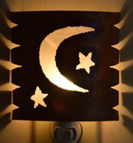 Moon and Stars Night Light