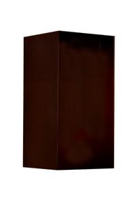 Bronze up and down wall light for interior and exterior lighting.