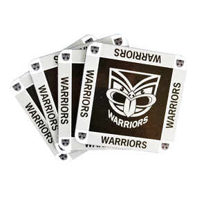 Warriors Coasters - 4 Pack