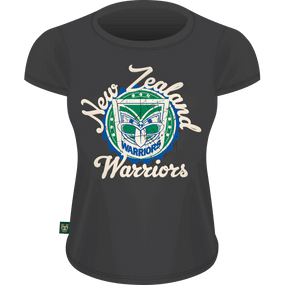 Warriors Womens Heritage Tee - Slate
