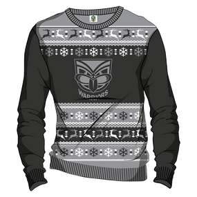 2016 Warriors NRL Ugly Sweater - Mens
