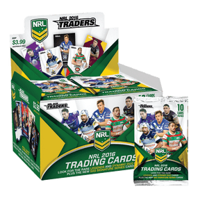 2016 NRL Traders Trading Cards - Full Box of 36 Packs
