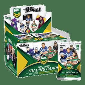 2016 NRL Traders Trading Cards - Full Box of 36 Packs