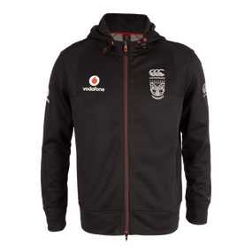 2016 Vodafone Warriors CCC Zip Thru Training Hoodie - Kids