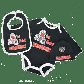 2016 Warriors Infant Bodysuit 3pc Gift Pack