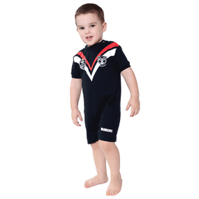2015 Warriors Infants Short Footysuit