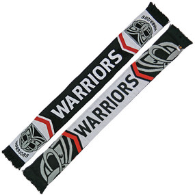 Warriors Cleave Jacquard Scarf