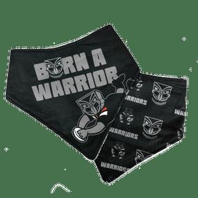 Warriors Infant Bandanna Bibs - 2pk