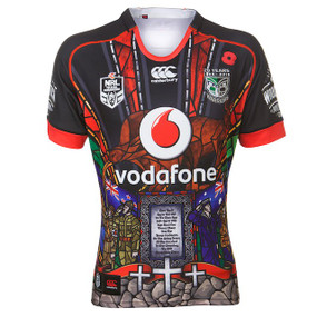 2015 Vodafone Warriors Anzac Day Commemorative Jersey - Womens