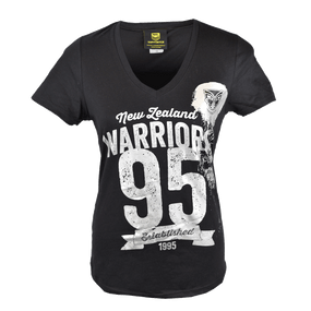 2016 Warriors Womens Supporter Tee - Black