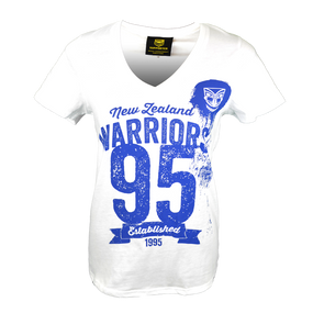 2016 Warriors Womens Supporter Tee - White