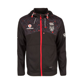 2017 Vodafone Warriors CCC Zip Thru Training Hoodie - Kids