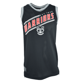 2017 Warriors Classic Basketball Singlet - Adults