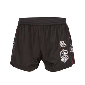 2017 Vodafone Warriors CCC Home Shorts - Kids