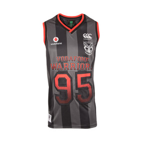 2017 Vodafone Warriors CCC Sideline Basketball Singlet - Adults