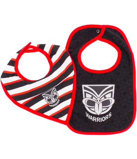 2017 Warriors Infant Bib 2 Pack