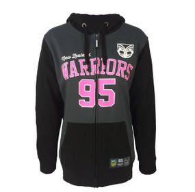 2017 Warriors Supporter Full Zip Hoodie - Womens