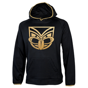 2017 Warriors Gold Foil Fleece Hoodie