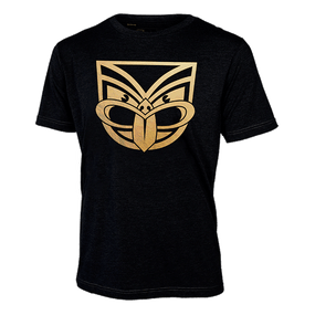 2017 Warriors Gold Foil Print Tee - Kids
