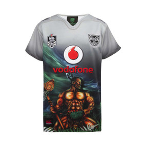 2018 Vodafone Warriors CCC Indigenous Jersey - Kids