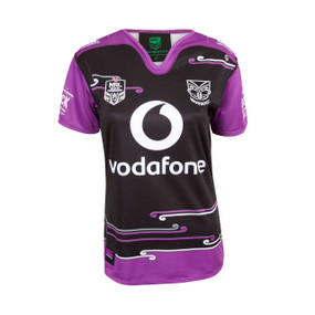 2018 Vodafone Warriors CCC Women in League Jersey - Womens