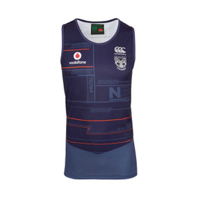 2018 Vodafone Warriors CCC Training Singlet