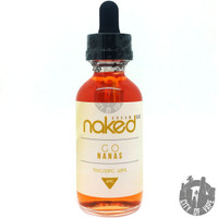 Naked 100 Cream 60ml Eliquid - Go Nanas