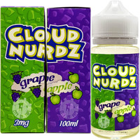 Cloud Nurdz 100ml Eliquid - Grape Apple