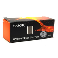 Smok TFV8 Baby Replacement Pyrex Glass - Pack of 3