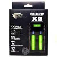 IMREN Intellicharger X2 18650 Battery Charger