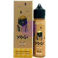 Yogi Bear 60ml E-liquid - Peanut Butter Banana Granola Bar