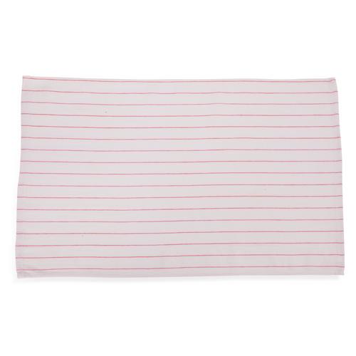 Low Lint Red Stripe Glass Towels Imagetextile Com