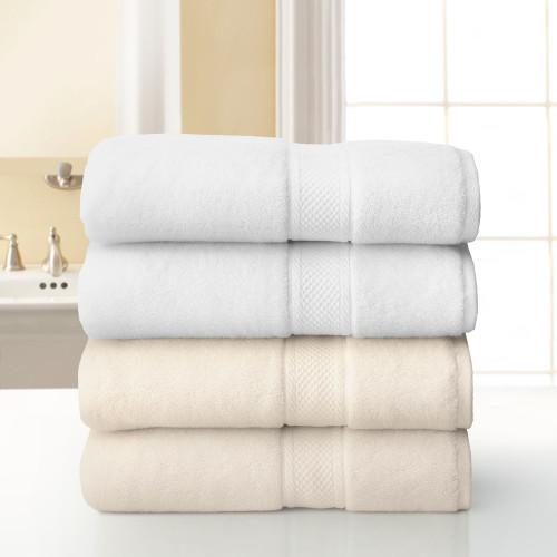 Grand Patrician Wash Cloth - White