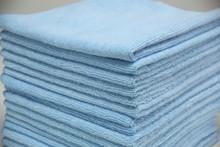 16x16 Blue Microfiber Terry Towel