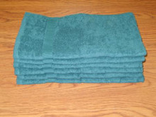 16x27 Forest Green Hand Towel