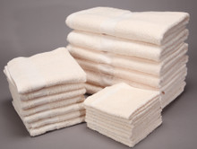 12x12 Beige Value Plus Wash Cloth