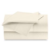 Full 81x108 Bone T200 Flat Sheet - 2 dozen