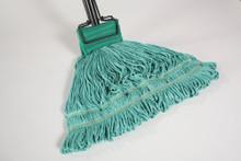 Green Microfiber Wet Mop