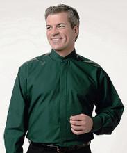 Men's Banded Collar Waiter Shirts