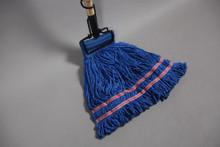 Blue Microfiber Looped End Wet Mop