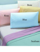 Queen 60x80x9 Color T180 Fitted Sheet - 2 dozen