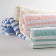 Tropical Stripe Pool Towels