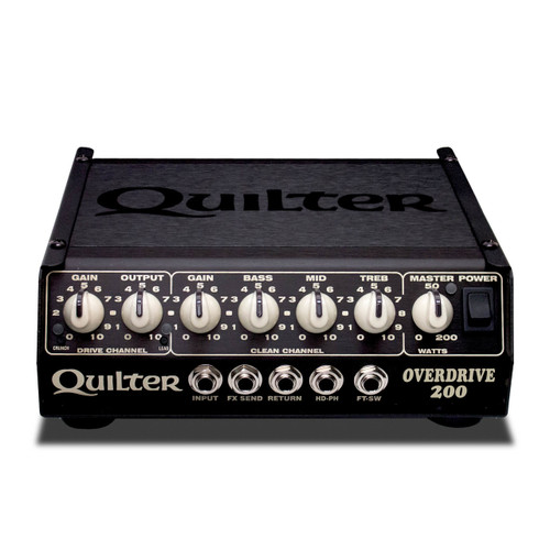 Quilter Labs Overdrive 200 guitar amplifier head 4 pounds 200 Watts