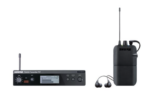 Shure P3TR112GR Wireless In-ear Monitor System  G20 Band