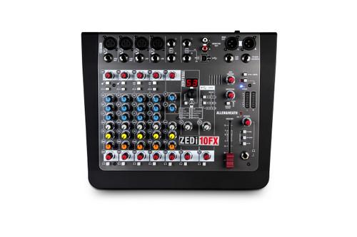 Allen & Heath Zedi-10FX Hybrid compact mixer  4×4 USB interface with FX