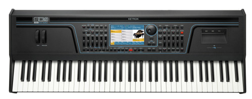 Ketron SD9 76 key arranger workstation