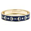 Gold Cup Bracelet - Navy