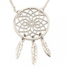 Dream Catcher Necklace - Sterling Silver